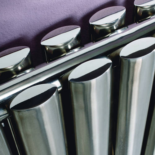 Additional image for Aspen Radiator 1150W x 600H mm (Double, Stainless Steel).