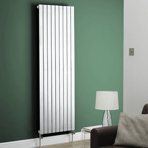 Additional image for Boston Vertical Radiator 410W x 1200H mm (White).