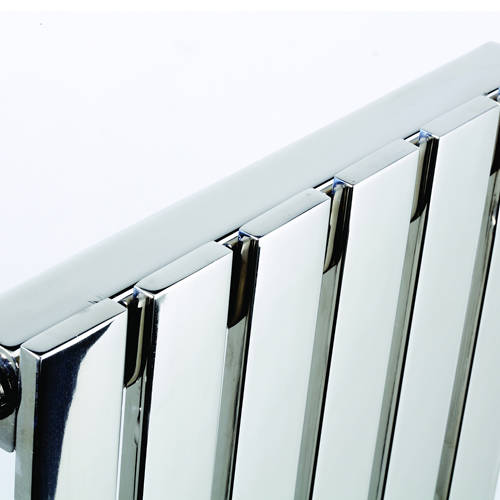 Additional image for Florida Vertical Radiator 490W x 600H mm (Stainless Steel).