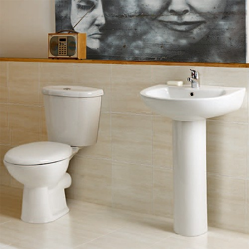 Additional image for G4K Complete Suite With 1700x700mm Single Ended Acrylic Bath.