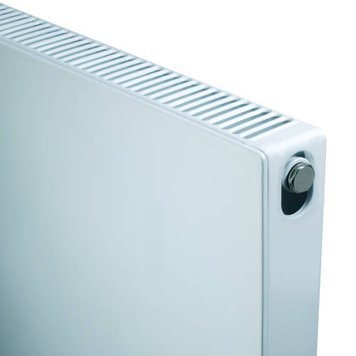 Additional image for Kompact Horizontal Radiator 400x600mm (DC, White).