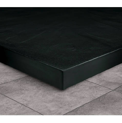 Additional image for Rectangular Shower Tray & Graphite Waste 1400x800 (Black).