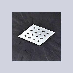 Additional image for Rectangular Shower Tray & Chrome Waste 1400x900 (Black).