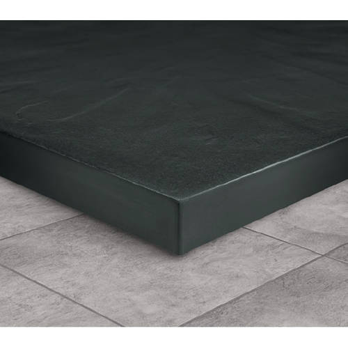 Additional image for Rectangular Easy Plumb Shower Tray & Waste 1600x800 (Graphite).