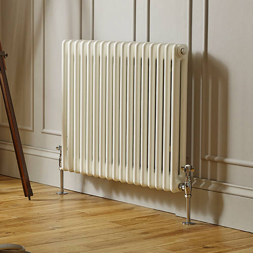 Additional image for Laser Klassic Horizontal Radiator 830x600mm (2 Col, White).