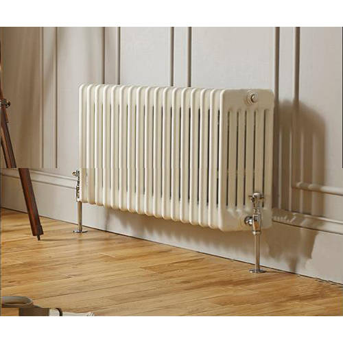 Additional image for Laser Klassic Horizontal Radiator 1370x300mm (6 Col, White).