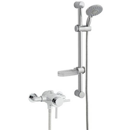 Additional image for Exposed Shower Valve With Slide Rail Kit (Option 4).