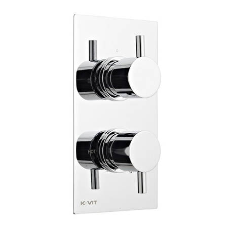 Additional image for Concealed Thermostatic Shower Valve (2 Outlets).