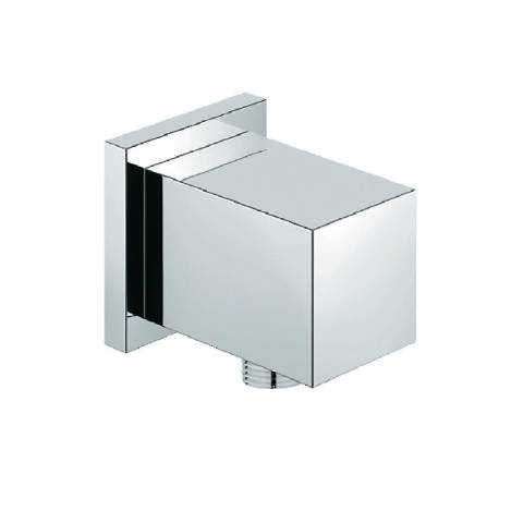 Additional image for Square Outlet Elbow (Chrome).