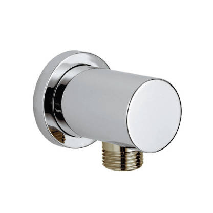 Additional image for Round Outlet Elbow (Chrome).