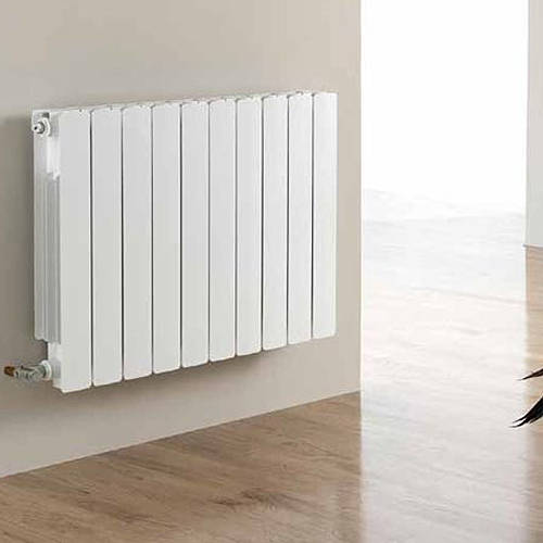 Additional image for Vermont Aluminium Radiator 400W x 581H mm (White).