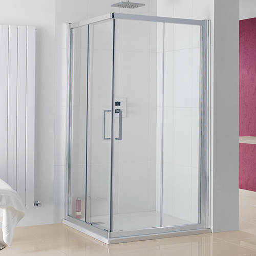 Additional image for Malmo Offset Corner Shower Enclosure (700x800x2000).
