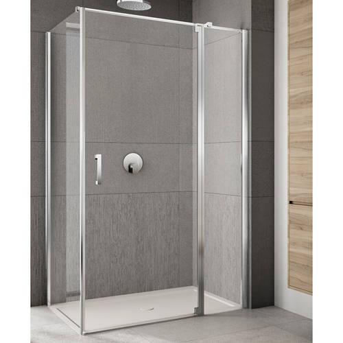 Additional image for Rilassa Shower Enclosure (1600x1200x2000mm, RH).