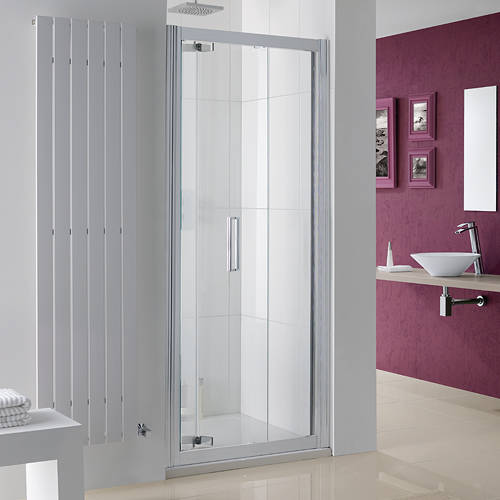 Additional image for Bergen Bi-Fold Shower Door With 8mm Glass (800x2000mm).