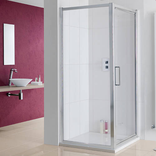Additional image for Narva Shower Enclosure With Pivot Door 1000x1000x2000