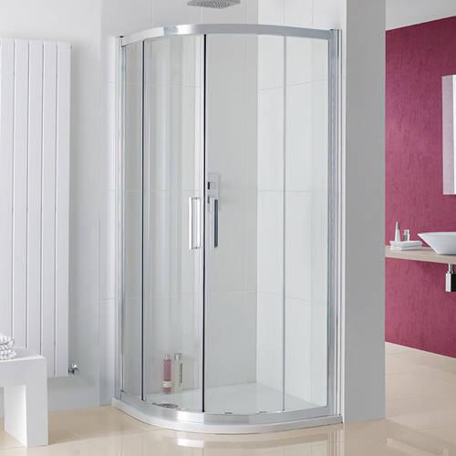 Additional image for Valmiera Quadrant Enclosure, 2 Doors (900x2000mm).