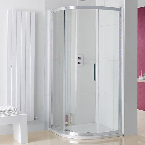 Additional image for Sorong Offset Quad Enclosure, Single Door (900x800x2000)