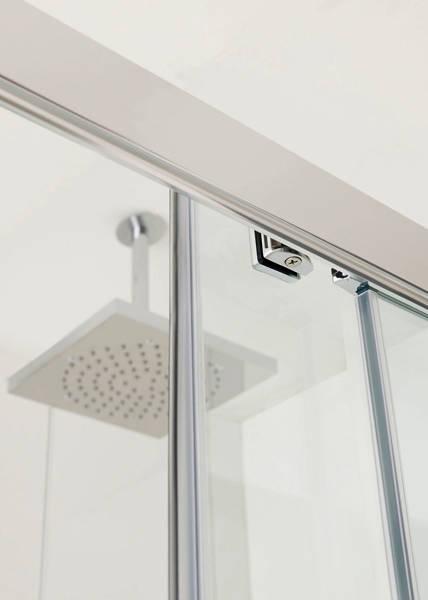 Additional image for Talsi Shower Enclosure, Slider Door 1600x1000x2000mm.