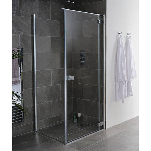 Additional image for Grenada Frameless Shower Enclosure (750x1000x2000)