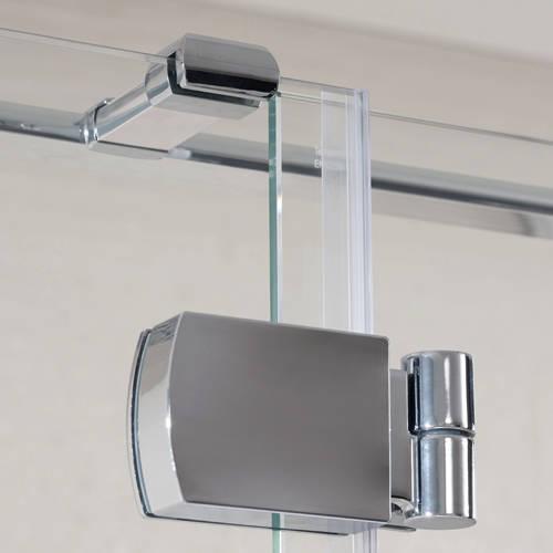 Additional image for Tobago Frameless Shower Enclosure (1200x750x2000)