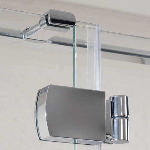 Additional image for Tobago Frameless Shower Enclosure (1600x900x2000)