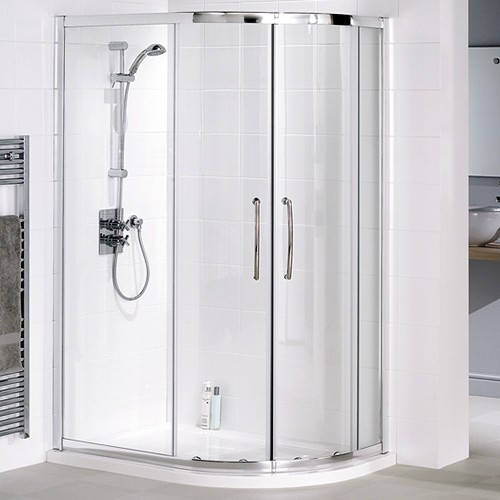 Additional image for Right Hand 1200x900 Offset Quadrant Shower Enclosure & Tray.