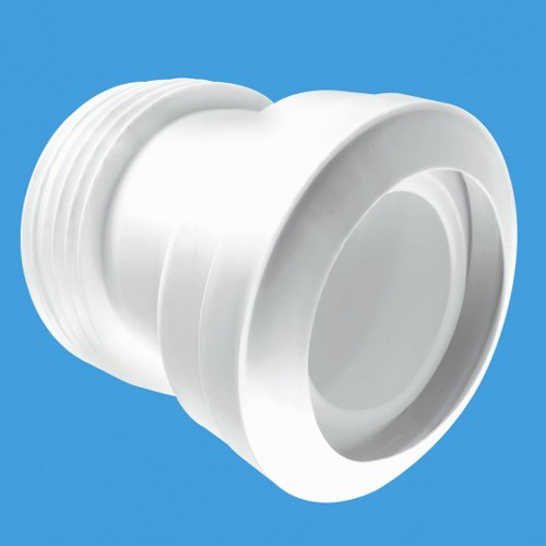 "Additional image for WC 4""/110mm 14 Degree Toilet Pan Connector (Macfit)."