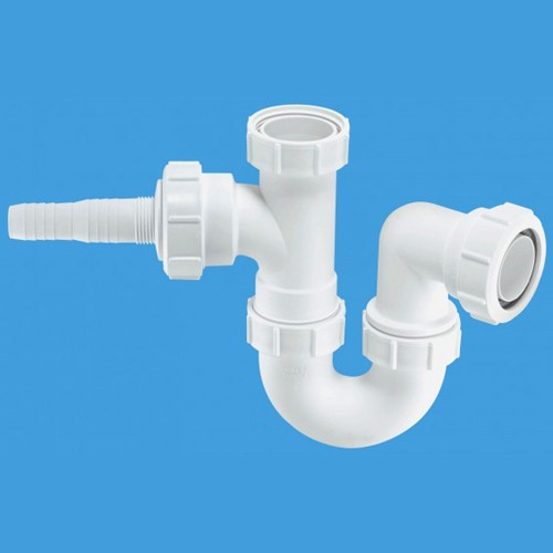 """Additional image for 1 1/2"""" Sink Trap With Horizontal Inlet."""