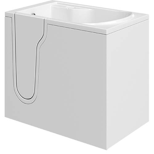Additional image for Athena Mini Corner Walk In Bath With Left Hand Door (Whirlpool).