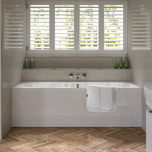 Additional image for Aventis Walk In Bath With Right Handed Door Entry (Whirlpool).
