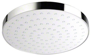 Additional image for Shower Head (200mm, White / Chrome).