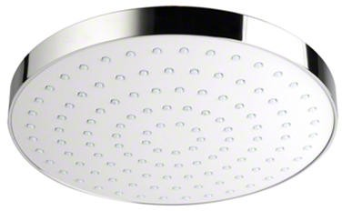 Additional image for Shower Head (250mm, White / Chrome).