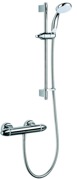 Additional image for Pro EV Thermostatic Bar Shower Valve With Slide Rail Kit.