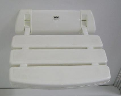 Additional image for Mira Shower Seat (White).