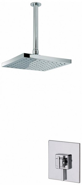 Additional image for Atmos Zinc Shower Valve With Square Shower Head & Arm.