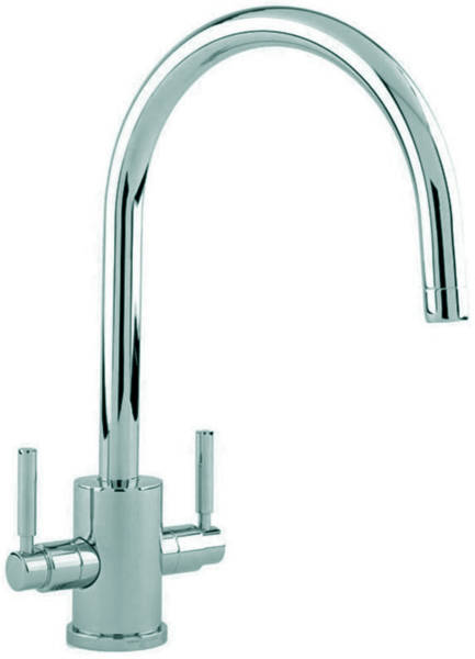 Additional image for Kitchen Mixer Tap With C Spout (Pewter).