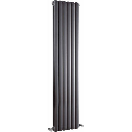 Additional image for Salvia Double Radiator. 3934 BTU (Anthracite). 383x1500mm.