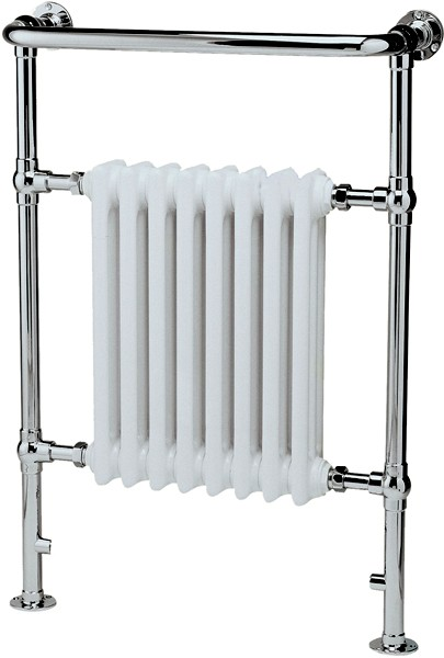 Additional image for Harrow Traditional Heated Towel Rail. 673x965mm.