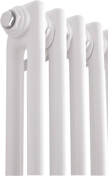 Additional image for Regency 2 Column Radiator (White). 335x1800mm. 4471 BTU.