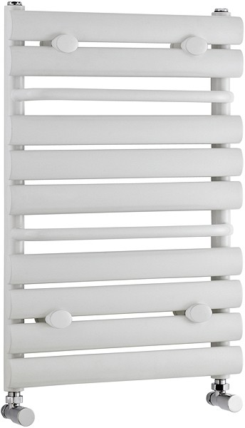 Additional image for Radiator With Built In Towel Rails (White). 445x650mm.