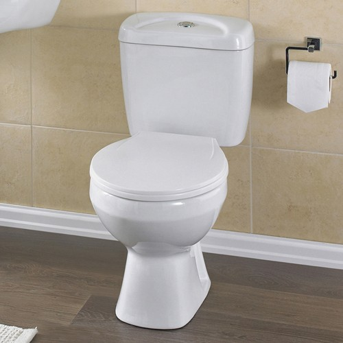 Additional image for Melbourne Toilet With Push Flush Cistern & Soft.