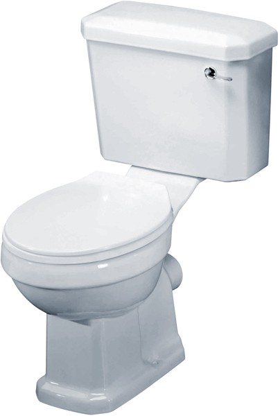 Additional image for Carlton Traditional Toilet With Cistern & Seat.