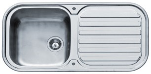 Additional image for Galaxy Kitchen Sink & Waste. 960x480mm (200mm Deep Bowl).