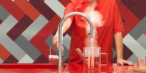 Additional image for Round Boiling Water Kitchen Tap. PRO3 (Stainless Steel).