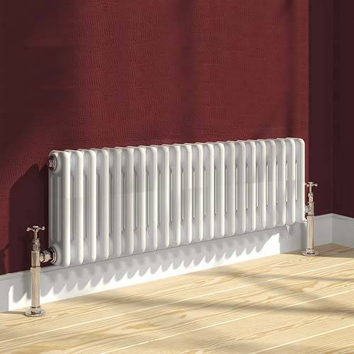 Additional image for Colona 3 Column Radiator (White). 300x1370mm.