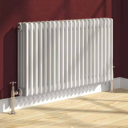 Additional image for Colona 4 Column Radiator (White). 600x1010mm.