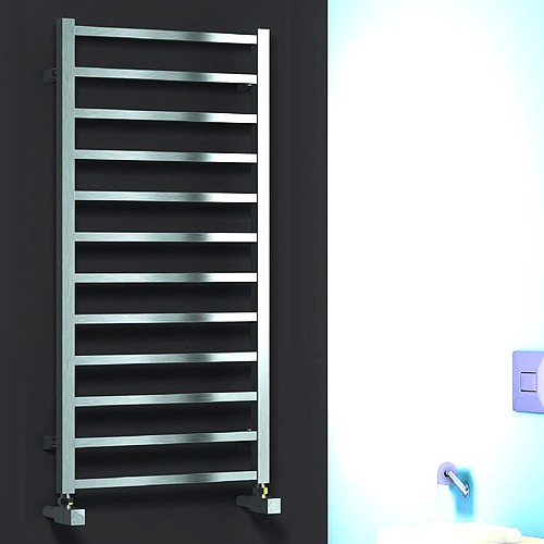 Additional image for Arden Towel Radiator (Polished Stainless Steel). 1000x500.