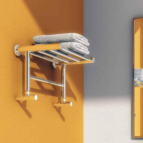 Troisi Towel Radiator Shelf Stainless Steel 294x532