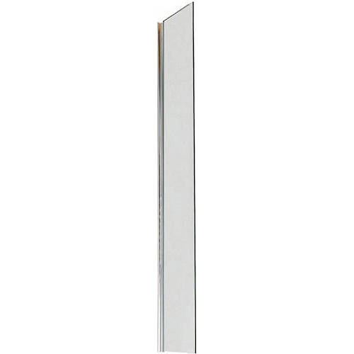 Additional image for Wet Room Glass Screen With Wall Bracket (200mm).