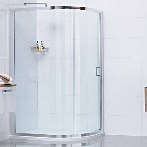 Additional image for Offset Quadrant Shower Enclosure With 1 Door (900x1200).